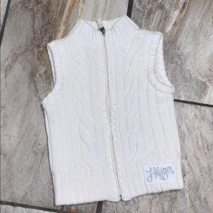 Girls Tommy Hilfiger Sweater Vest